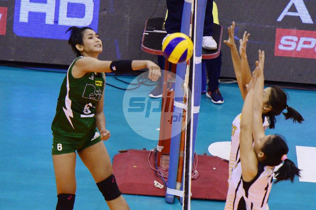 St. Benilde survives tough five-setter against Letran for second win in NCAA women's volleyball