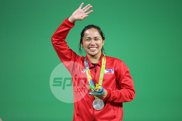 Philippines celebrates Hidilyn Diaz's silver medal in Rio 2016 Olympics