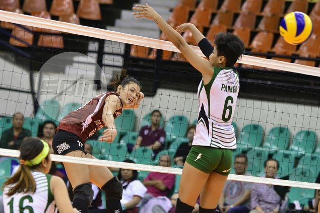UP Lady Maroons close in on V-League quarterfinals with rout of winless CSB Lady Blazers