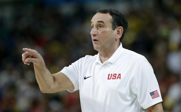 US men's basketball edges France 100-97; Thompson scores 30