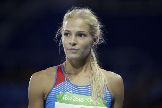 darya klishina lone russian entry in rio athletics