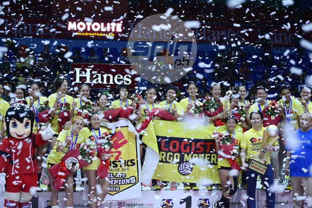 Ara Galang and the F2 Logistics team enter the decider in high spirits.