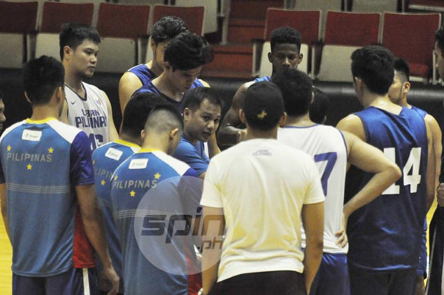 Mike Tolomia's last-gasp trey salvages 84-all tie for Gilas in tuneup against FEU Tamaraws