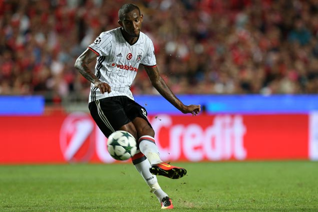 Former Benfica player Talisca comes up with a huge goal for Besiktas ...