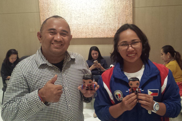 Olympic heroine Hidilyn Diaz now a Funko Pop figure, thanks to unique gift from fan