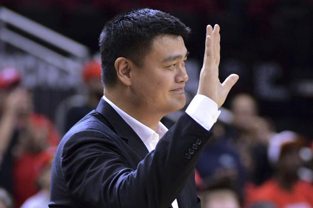 Yao Ming ecstatic as he joins elite cast of Rockets greats ...