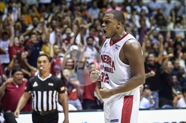 Brownlee roars as Ginebra reigns again.