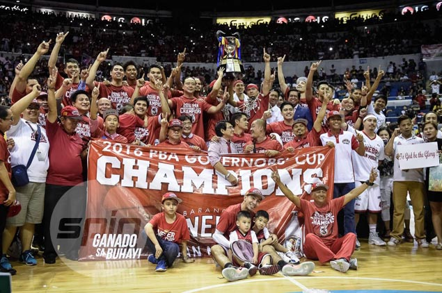 The eight-year title drought is over for the Gin Kings.