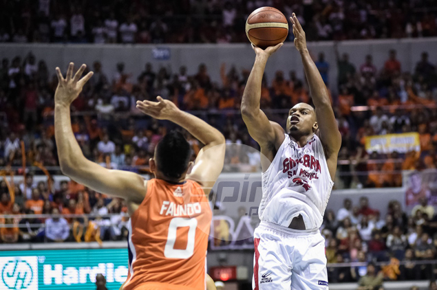 Justin Brownlee goes on a late tear as Ginebra outlasts Meralco in a wild finish.