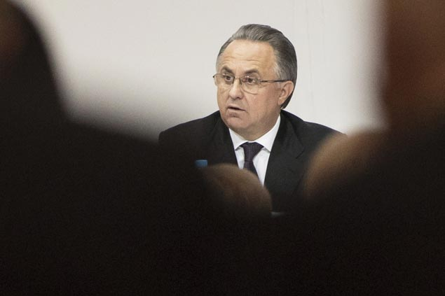 Vitaly Mutko steps down as president of Russian Football Union, retains job as deputy prime minister