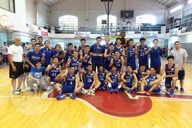 Ateneo squad loaded with freshmen beats Lyceum to bag U-25 title in Milcu Got Skills tilt