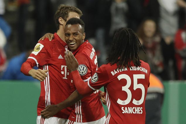 Julian Green nets first Bayern Munich goal in win over Augsburg in German Cup
