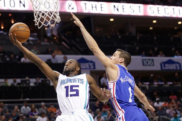 Batum breaks out, leads Hornets past 76ers 109-93