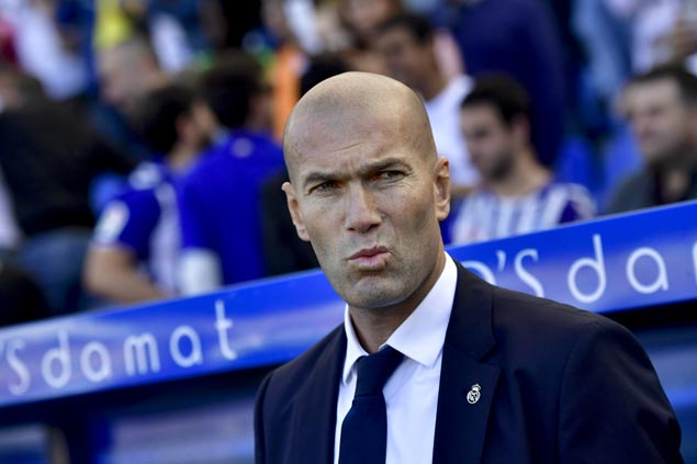 Zinedine Zidane under fire for unpredictable moves behind inconsitent play of Real Madrid | SPIN.ph