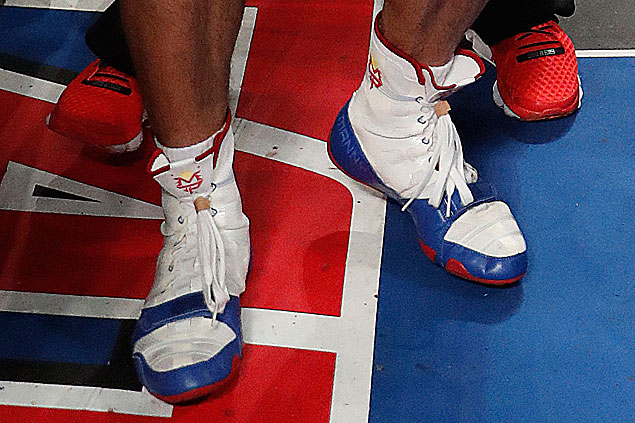 incompleto Agrícola asiático  Were those his old Nike boxing shoes that Pacquiao wore for Vargas fight?