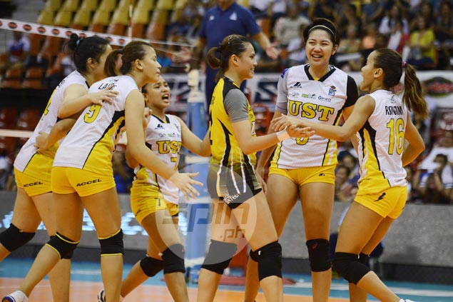 Kungfu Reyes insists UST not yet UAAP-ready despite impressive stint in V-League