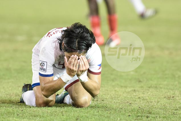 'Unlucky' Pika Minegishi rue wasted Azkals chances against 10-man Singapore