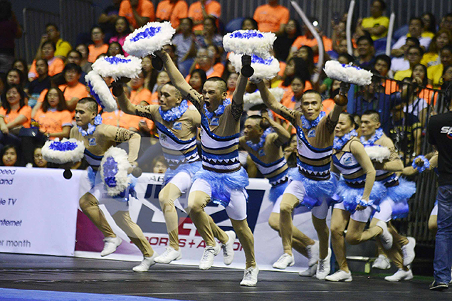 Grand entrance for surprise runner-up Adamson.