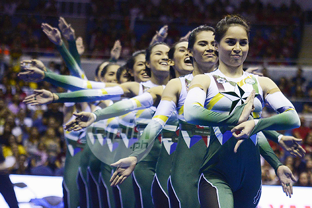 La Salle's Animo Squad puts on a show.