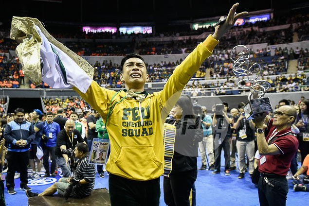 Tears of joy as FEU earns a podium place.
