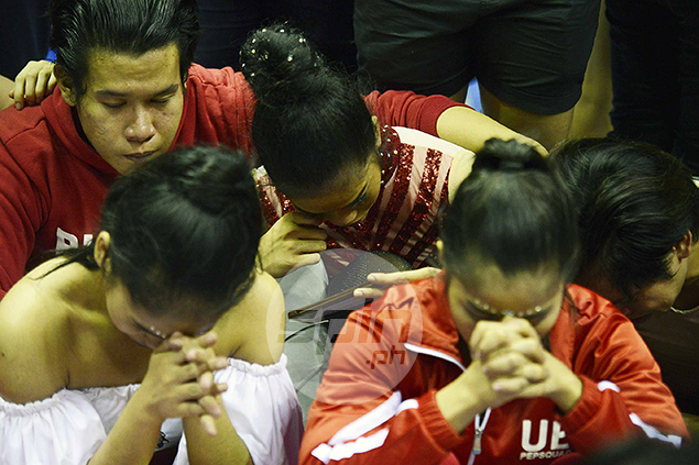 Agony of defeat.