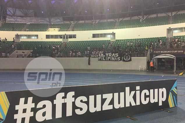 Azkals fan groups issue call for help as pathetic turnout mars Suzuki Cup matches