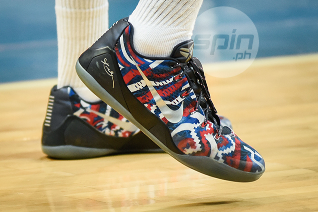Nike Kobe IX EM Premium 'Independence Day' (Chibueze Ikeh - Ateneo) – Dedicated to the US' Independence Day and released on the 4th of July two years ago.