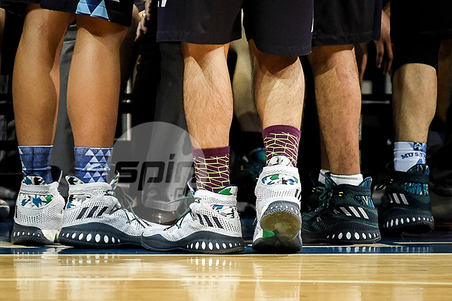 adidas Crazy Explosive 'Andrew Wiggins PE' (Adamson Soaring Falcons) – The Soaring Falcons were outfitted by adidas this year with Rob Manalang, Jerrick Ahanmisi, and JD Tungcab all leading Adamson to its first Final Four berth since 2011.