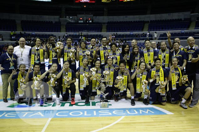 NU Lady Bulldogs complete hat-trick of titles with season sweep in UAAP women's basketball