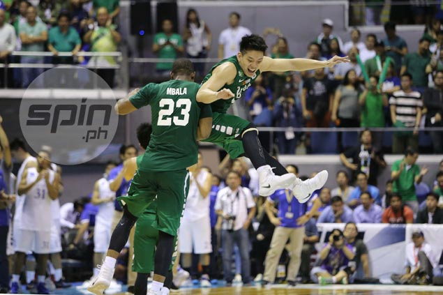 Mbala and Teng feeling it.