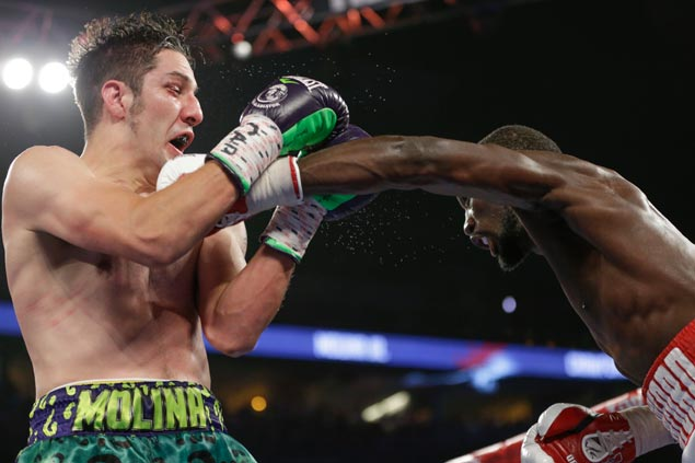Terence Crawford once again calls out Pacquiao after stopping Molina in eight rounds