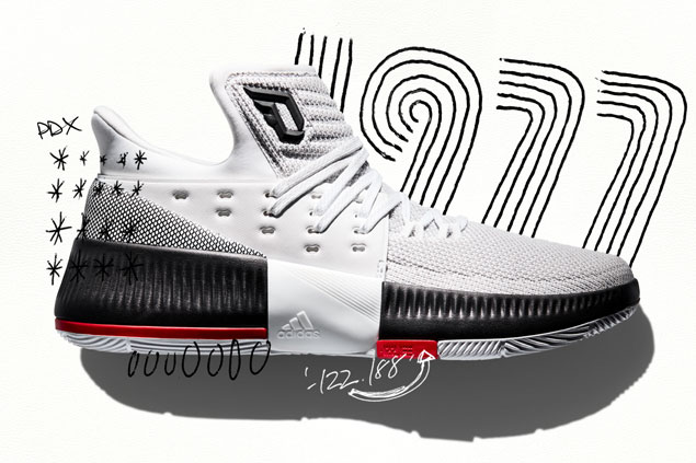 sale retailer b5f0a ce534 Damian Lillard honors basketball roots in latest signature shoe Dame 3