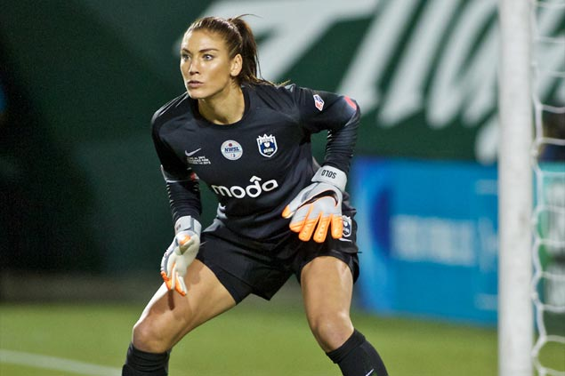 Hope Solo open to return to US women's team but insists fight for equal pay her top priority