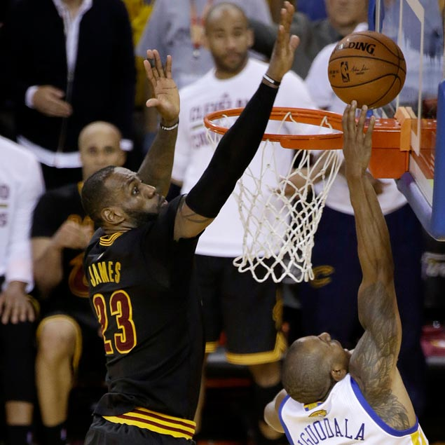 LeBron James' chasedown block on Iguodala in NBA Finals is AP's Play of the Year | SPIN.ph