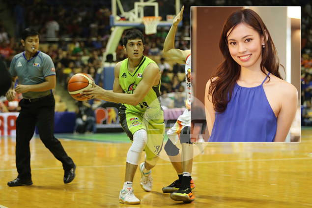 WAGS: Courtside reporter Laura Lehmann glad to give Von Pessumal her undivided attention in PBA