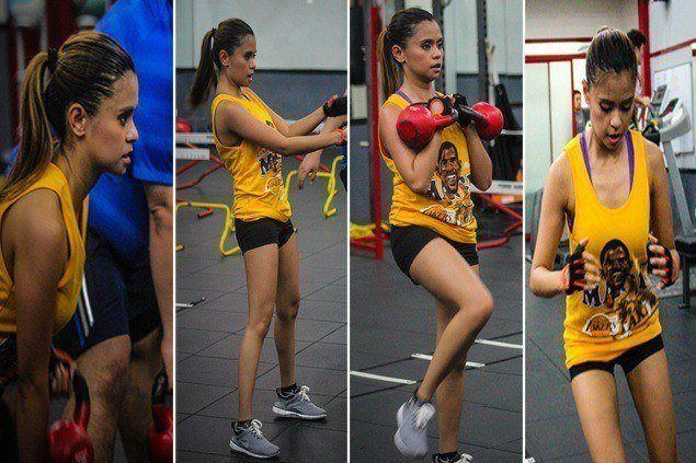 PBA courtside reporter Rizza Diaz shares tips on how to get back in shape after holiday binge