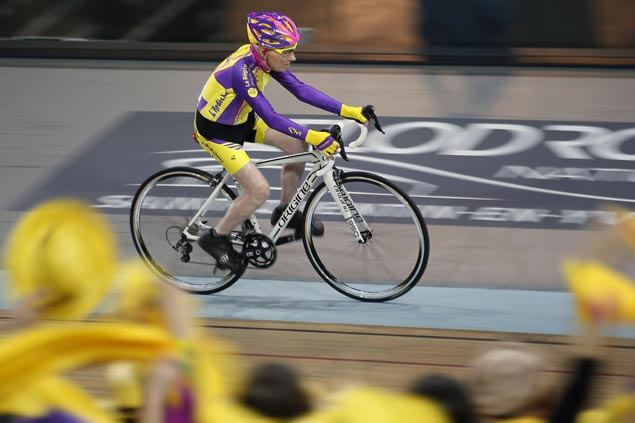 105-year-old rider sets new world cycling record at France velodrome
