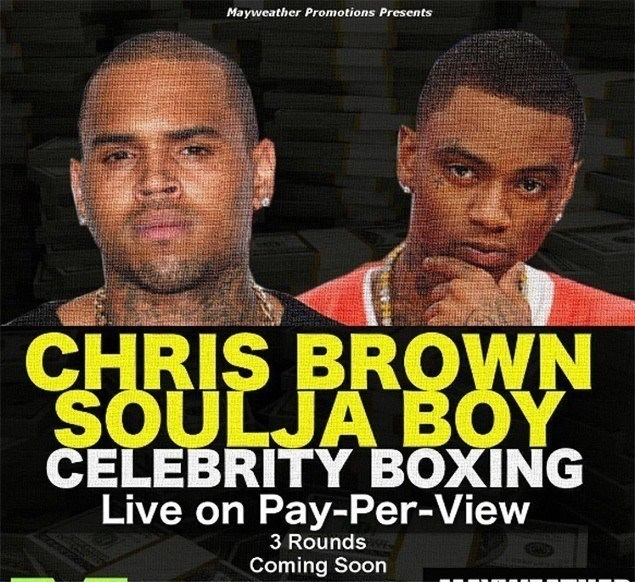 Chris Brown, Soulja Boy to settle social media feud in fight promoted by Mayweather