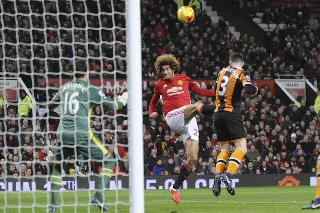 Man United on track for League Cup final with two-goal win over Hull in first leg of semis