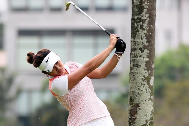 Bianca Pagdanganan fires near-flawless 66 for two-shot lead in Philippine Ladies Open