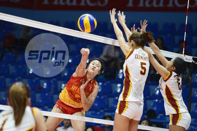 San Sebastian wallops Perpetual to stay perfect, seal first Final Four spot in NCAA volleyball