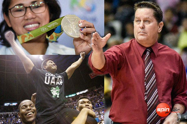 Hidilyn Diaz, SMB, Cone lead nominees in 2016 SPIN.ph Sportsman of the Year awards