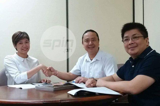 Ginebra manager Alfrancis Chua oversees buildup of Petron's volleyball team