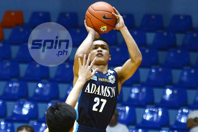 Double-doubles by Encho Serrano, Carl Tamayo power Adamson's romp over UPIS