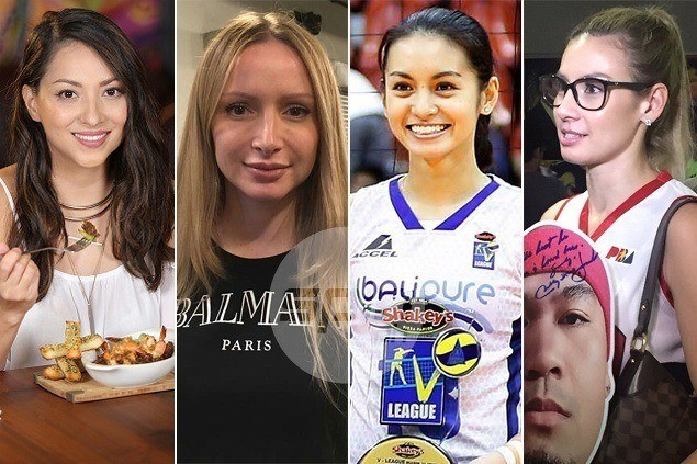 Ms. Universe ng buhay ko: PBA players' wives, girlfriends with beauty contest-worthy good looks