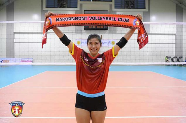 Thai volleyball club 3BB Nakornnont rolls out red carpet for 'rising star' Alyssa Valdez