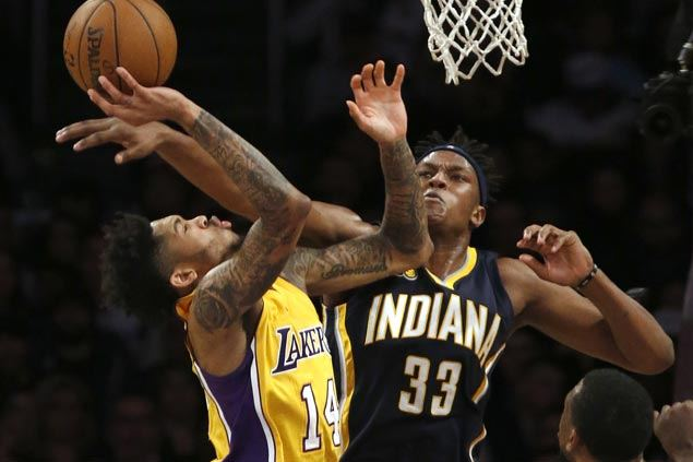 Lakers ride third quarter surge to romp over Pacers and snap five-game losing streak
