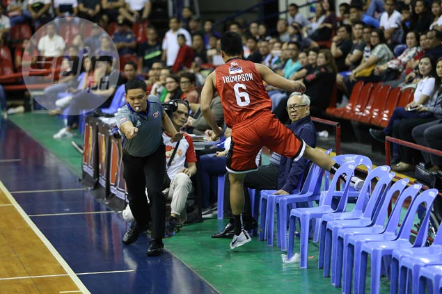 Scottie Thompson says Japeth Aguilar absence not an excuse for Ginebra letdown