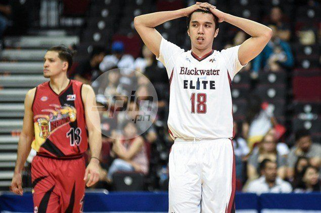 Art dela Cruz, Blackwater out to make most of lifeline after Rain or Shine defeat