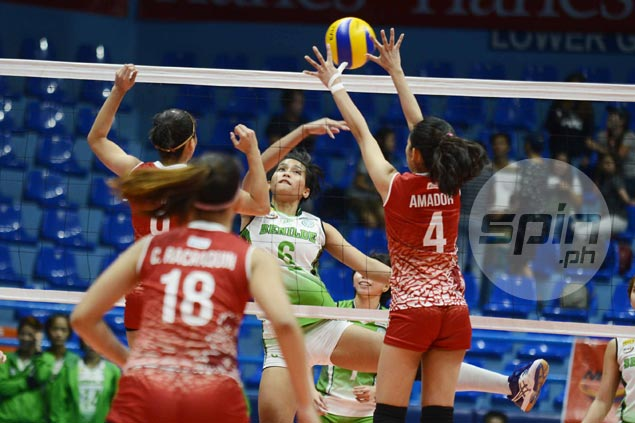 CSB Lady Blazers turn back San Beda to snap two-game skid in NCAA volleyball